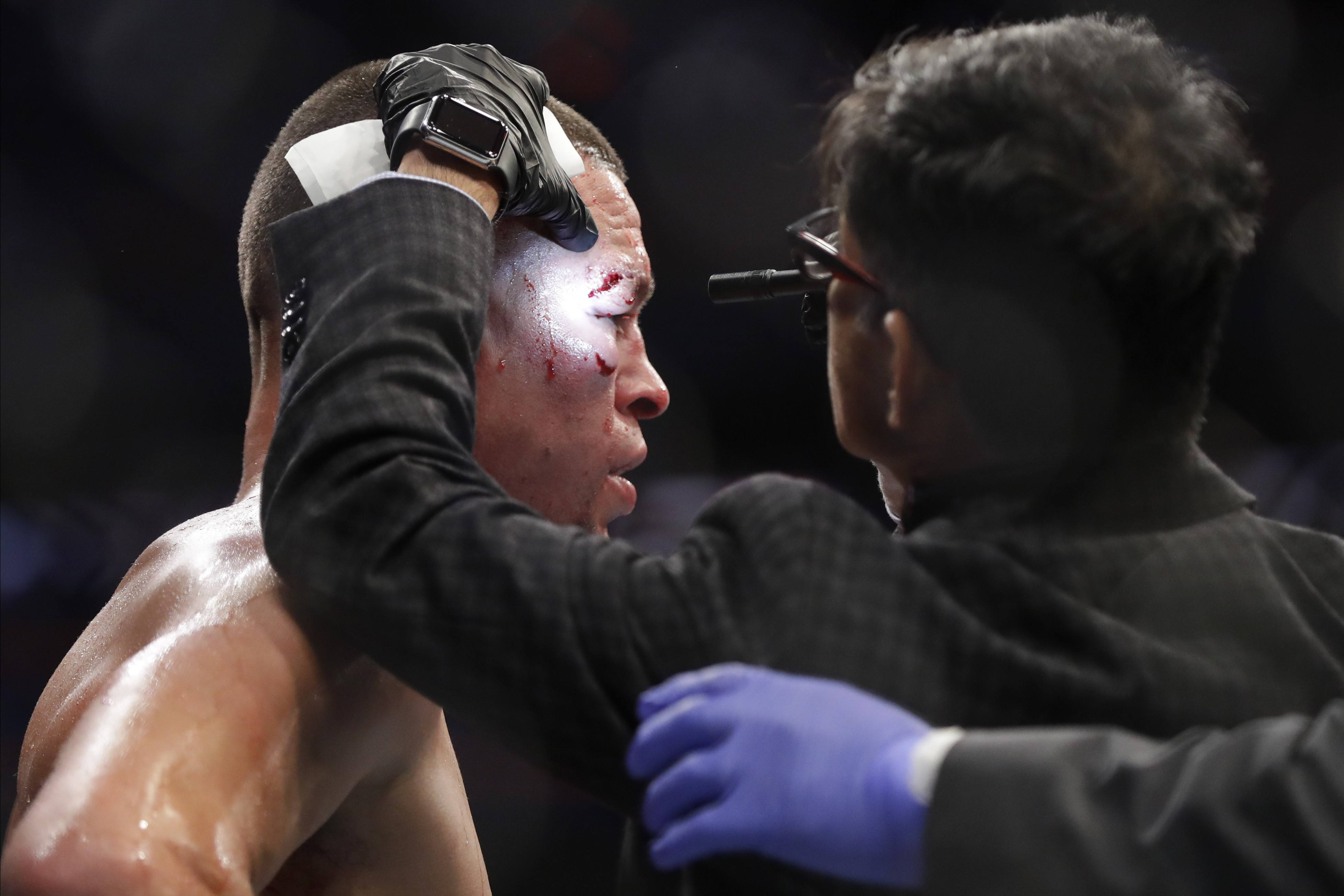 Combat Sports ringside physicians