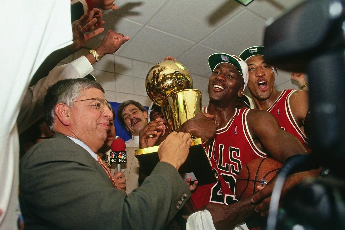 Chicago Bulls Michael Jordan Dynasty 1990s