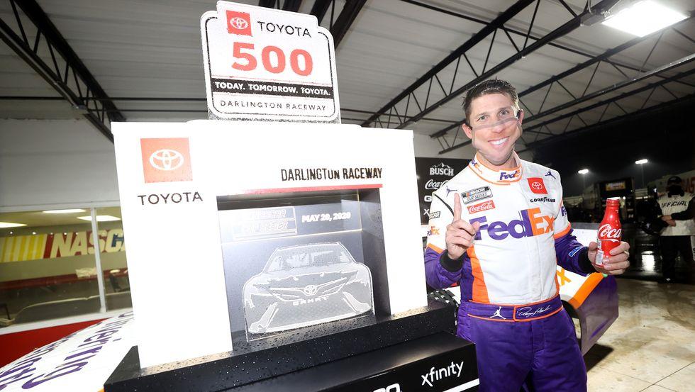 Denny Hamlin Darlington NASCAR