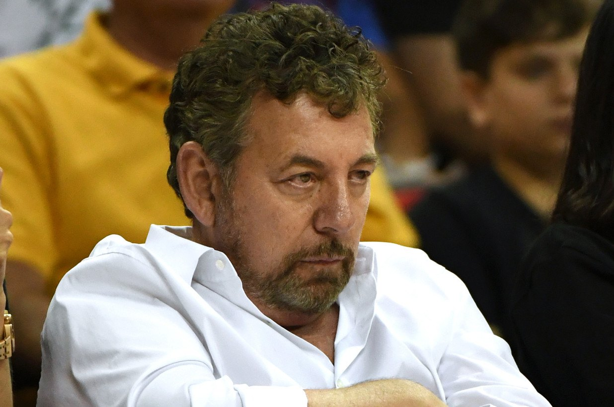 Major league sports team owners like James Dolan own shares of DraftKings