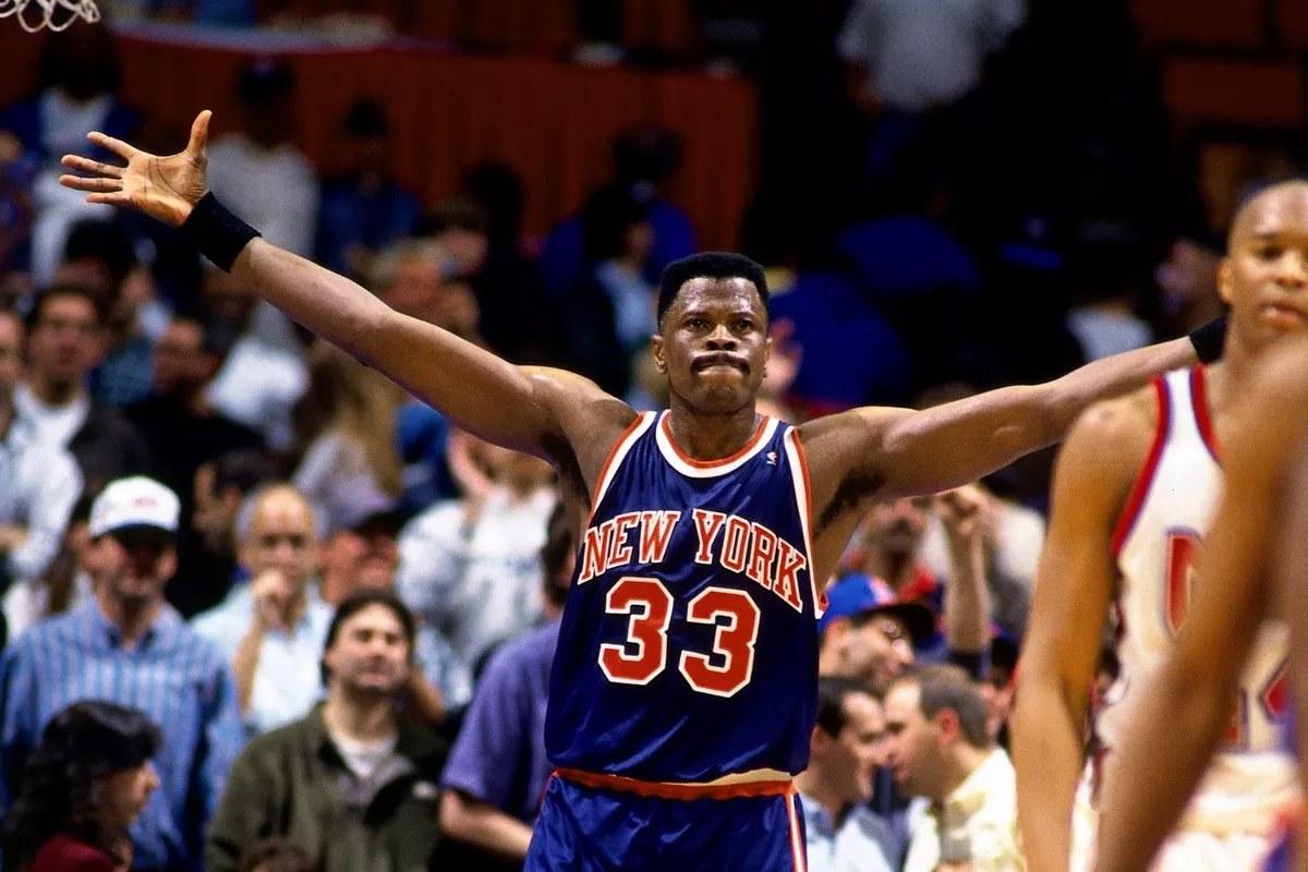 Patrick Ewing Georgetown Knicks coronavirus