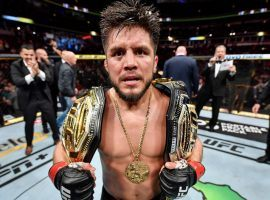 Former two-division champion Henry Cejudo is now retired from MMA, according to the UFC. (Image: Jeff Bottari/Zuffa/Getty)