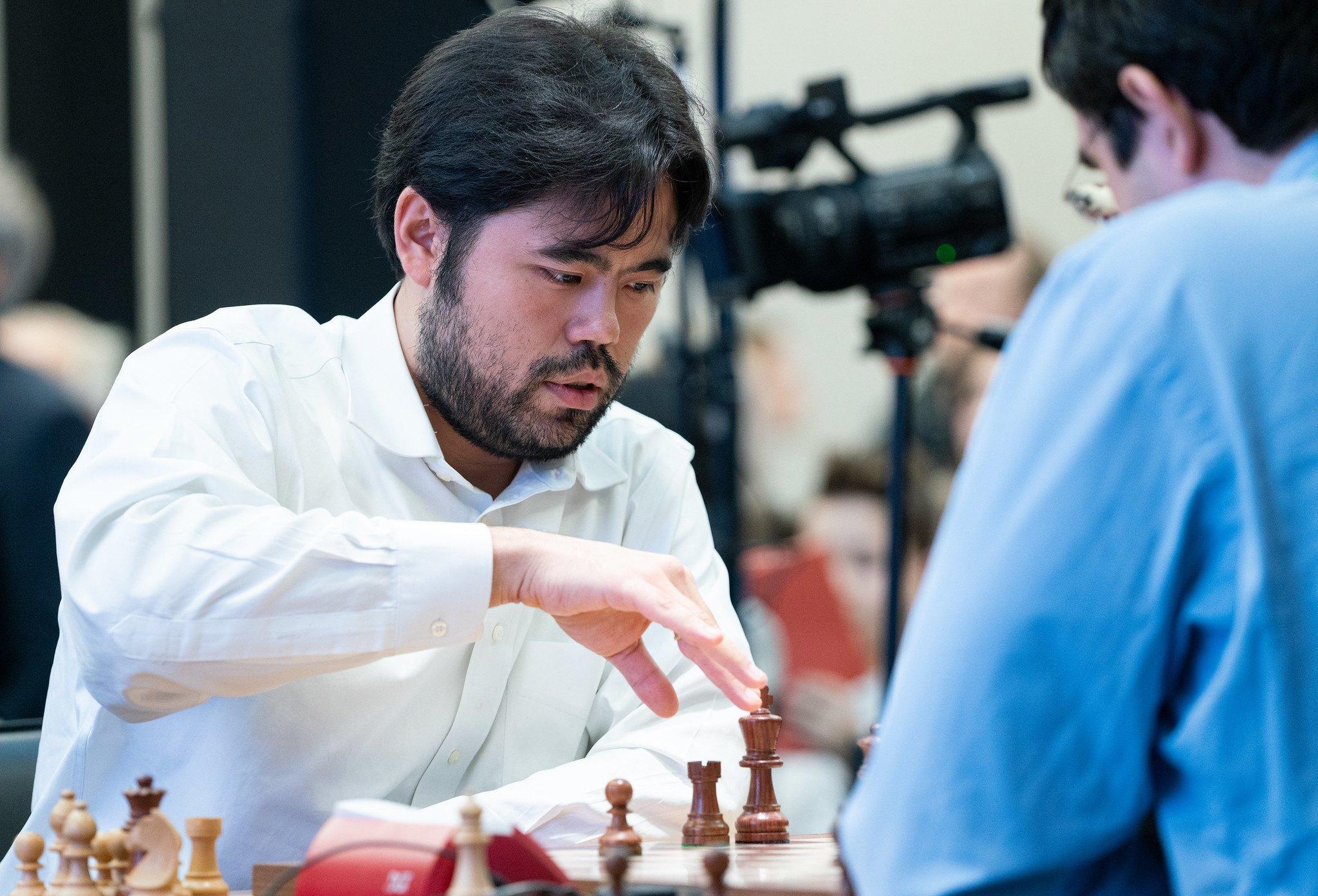 Hikaru Nakamura Rapid Challenge Dubov