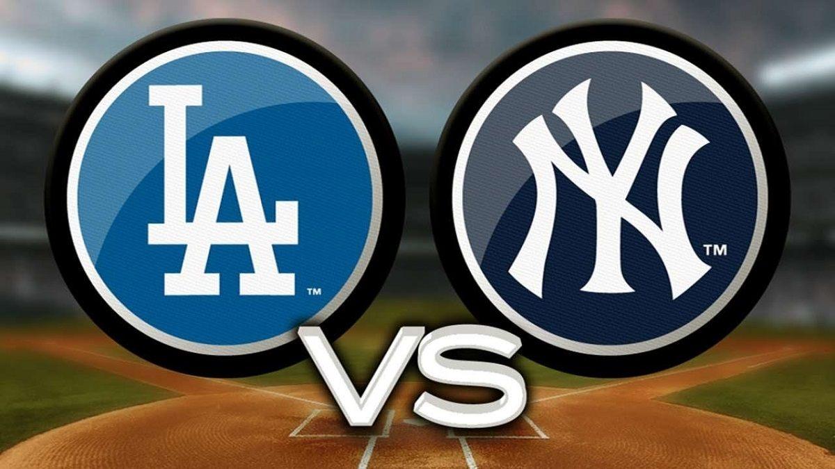 Los Angeles LA Dodgers New York NY Yankees World Series Odds 2020