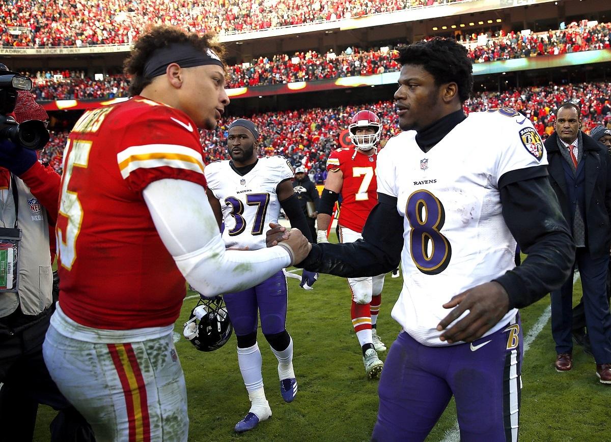 NFL MVP Odds Lamar Jackson Patrick Mahomes