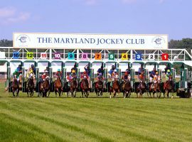 Maryland's Laurel Park received approval to resume racing Saturday. It plans running through Aug. 22. (Image: Laurel Park)