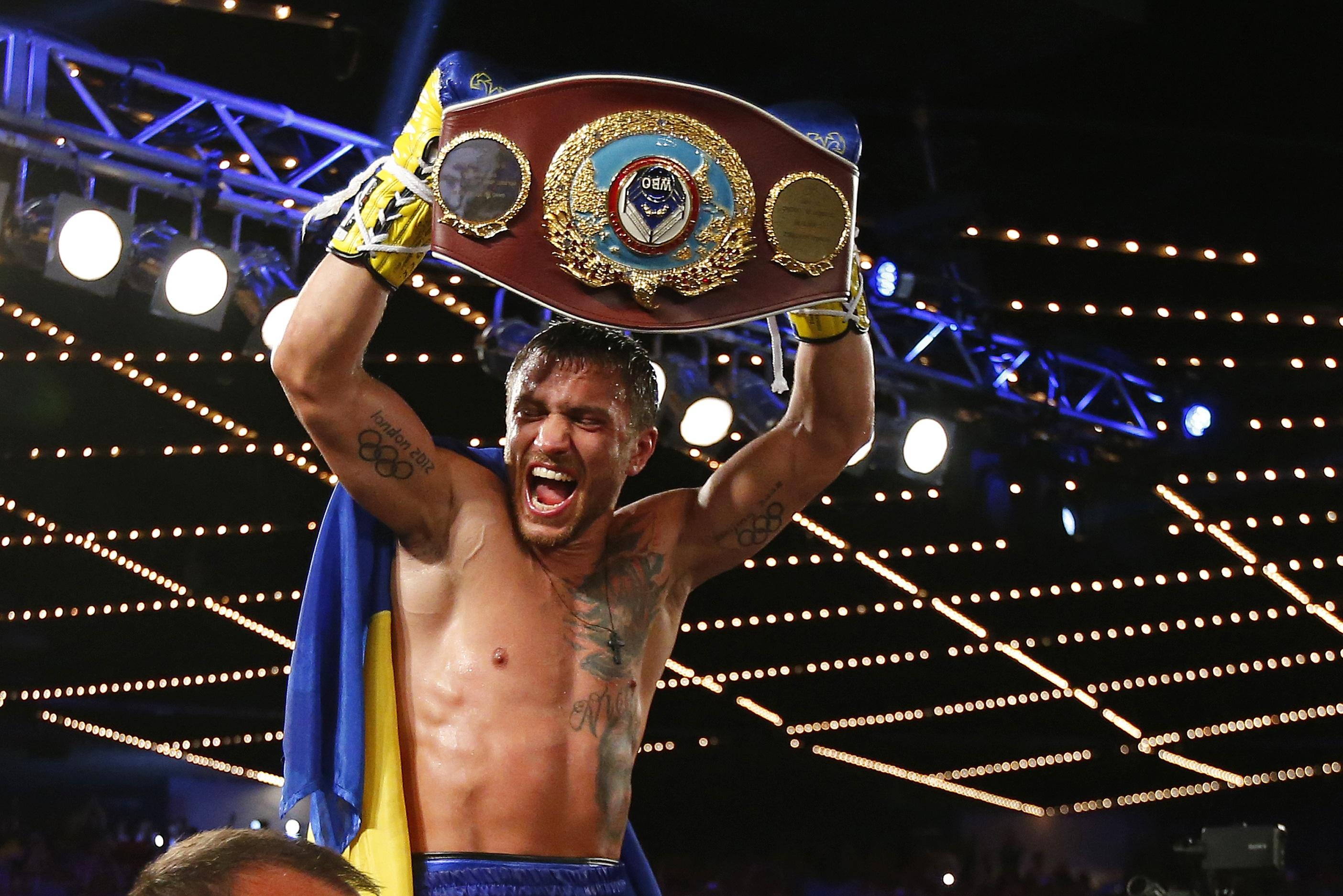 boxing return Las Vegas