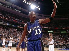Michael Jordan returns to the NBA with the Washington Wizards in 2001. (Image: Getty)