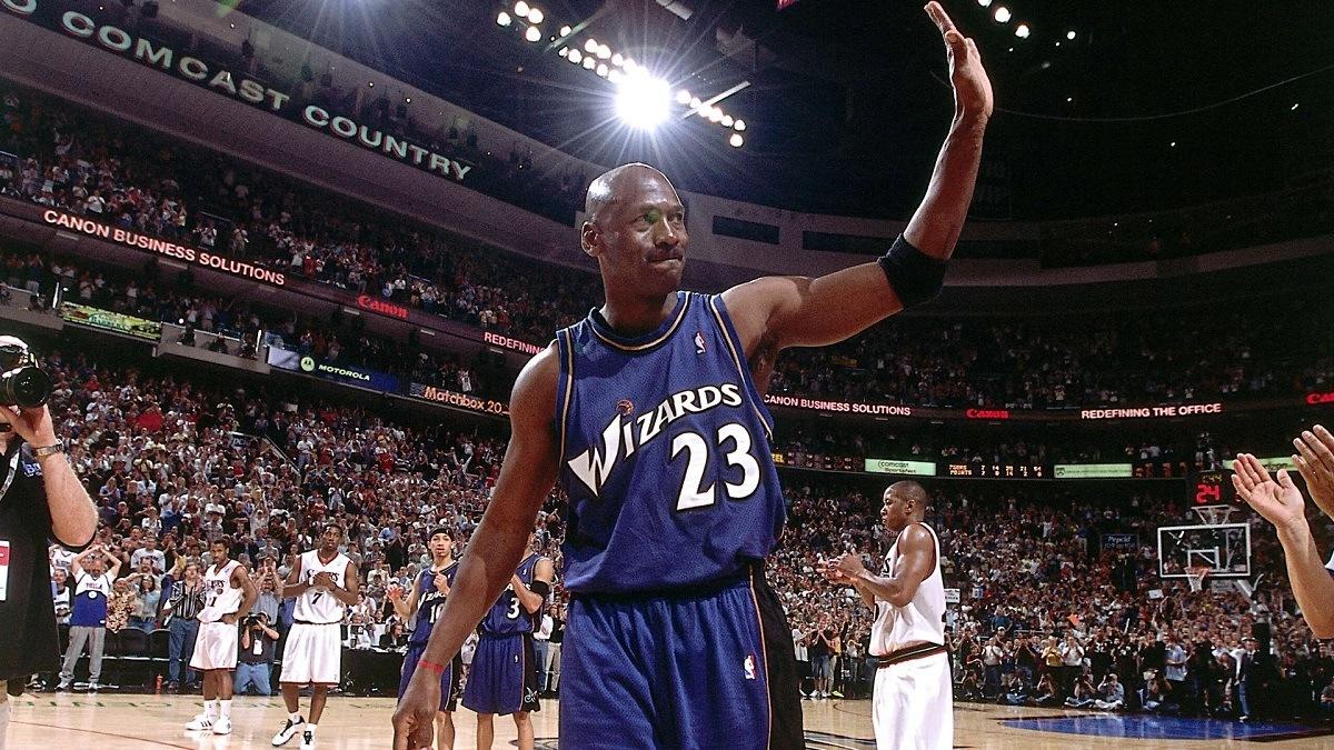 Michael Jordan Unretires Washington Wizards