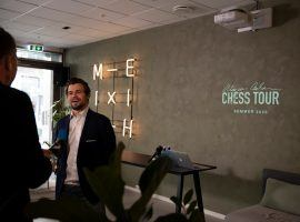 Magnus Carlsen announced the formation of the Magnus Carlsen Chess Tour at a press conference in Oslo, Norway on May 14, 2020. (Image: Chess24.com)