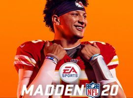 Kansas City Chiefs QB, Patrick Mahomes, on the cover of Madden 20 video game by Electronic Arts. (Image: EA)