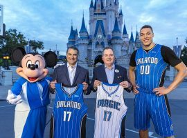 Disney became a jersey sponsor for the Orlando Magic in 2017. (Image: AP)