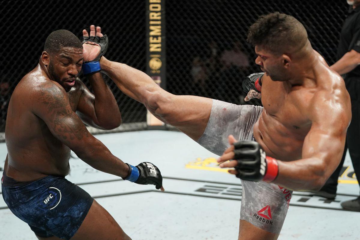 UFC Overeem Harris