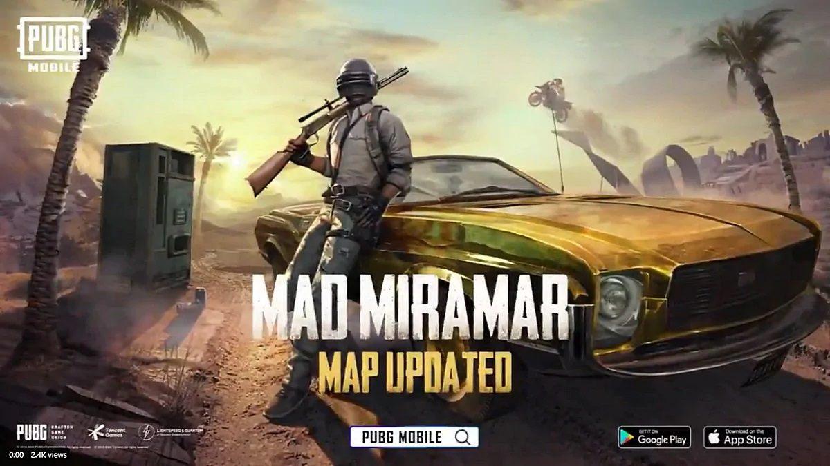 PUBG Mobile Update Miramar Sandstorms Mad