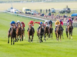 The 1,000 Guineas on the Rowley Mile at Newmarket, one of the English Classics, highlights English racing's first week back. (Image: Mark Westley)