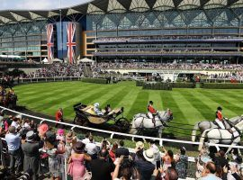 Even with the six extra races, Queen Elizabeth's 2017 Royal Ascot entrance won't be duplicated this year. (Image: Getty)