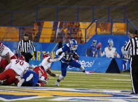 San Jose State defeated Fresno State 17-16 in a Mountain West college football game played on Nov. 30, 2019. (Image: SJSU Athletics)