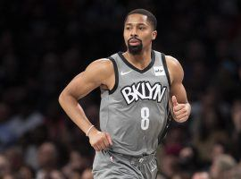 Spencer Dinwiddie of the Brooklyn Nets tweeted that the NBA plans to resume play around July 15. (Image: Mary Altaffer/AP)