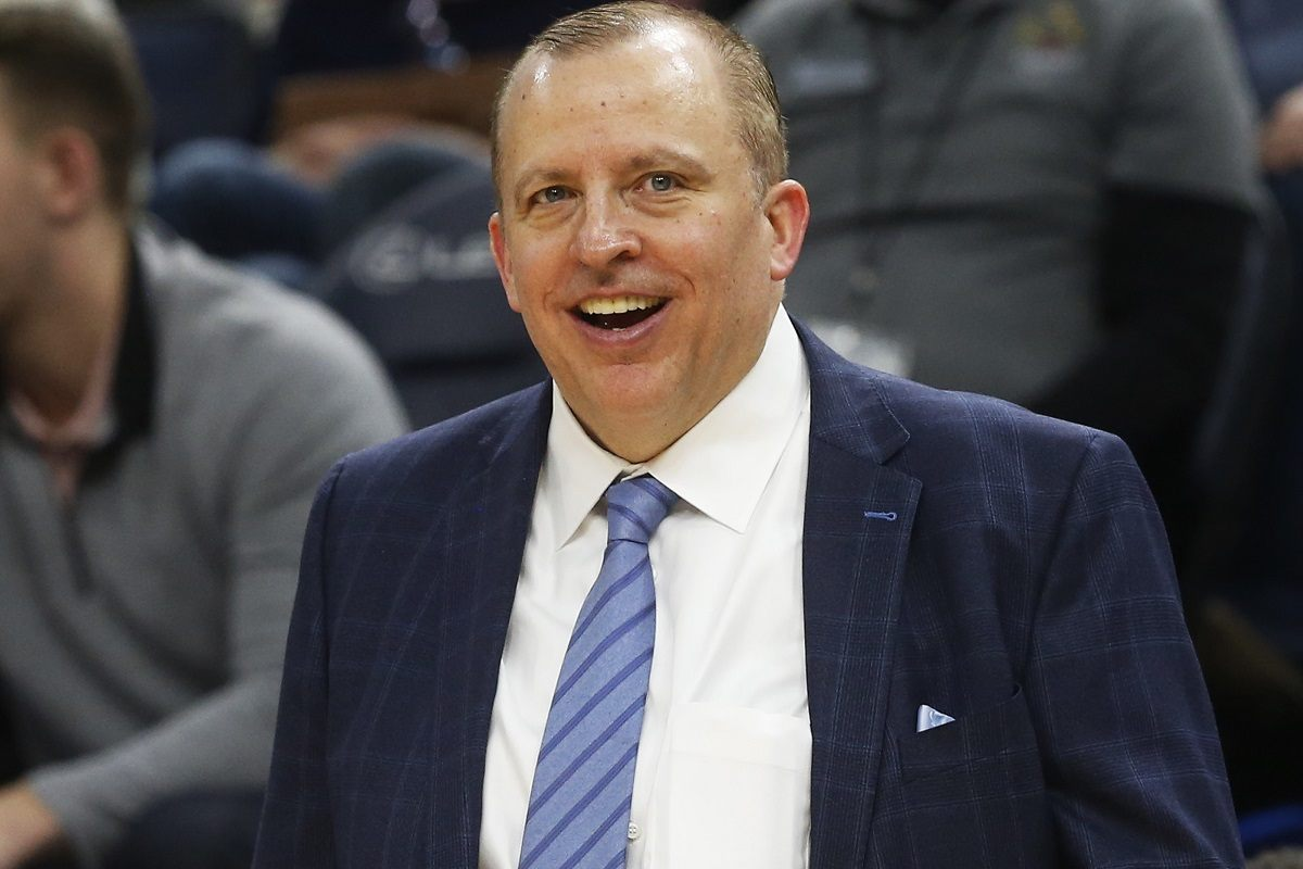 Tom Thibodeau Thibs head coach NY Knicks Brooklyn Nets Houston Rockets
