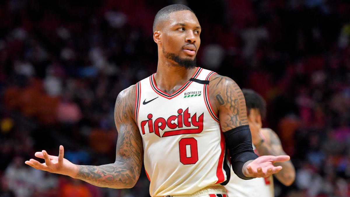 Damian Lillard NBA Playoffs Portland TrailBlazers