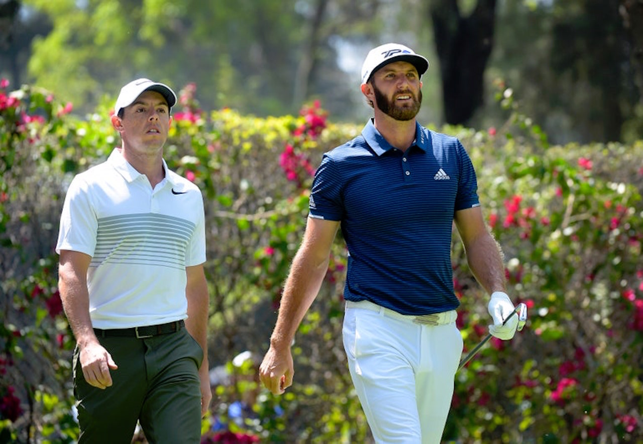 Rory McIlroy and Dustin Johnson charity golf matches
