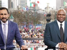 ESPN is set to replace Monday Night Football announcers Joe Tessitore and Booger McFarland. (Image: ESPN Images)