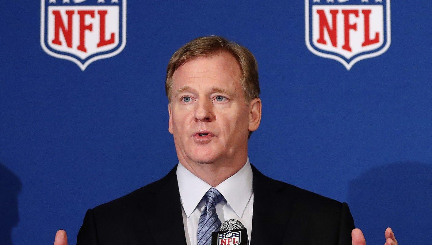 Roger Goodell NFL 2020 schedule