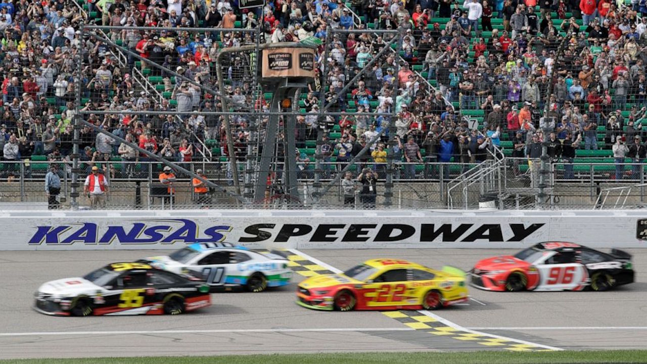 Kansas Speedway NASCAR race
