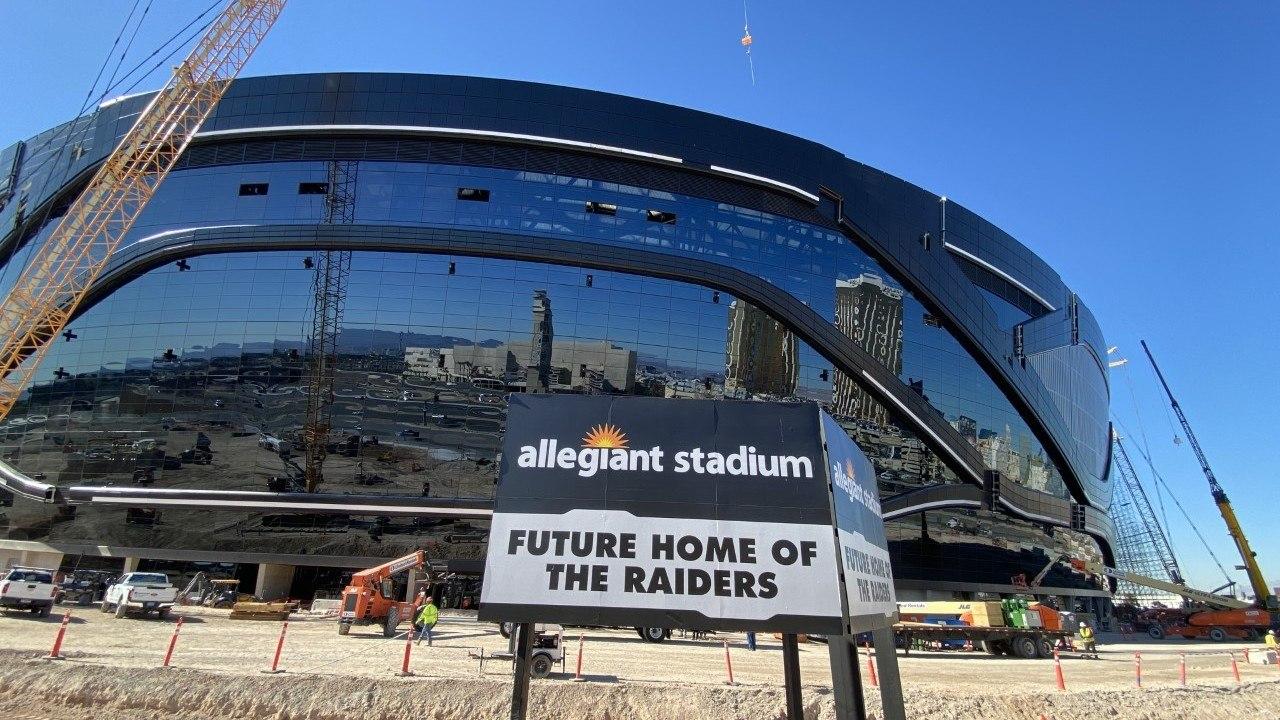Raiders Stadium NFL 2020 schedule winners, losers
