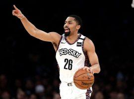 Brooklyn Nets point guard Spencer Dinwiddie at Barclays Center in Brooklyn. (Image: Marco Esquondoles/AP)