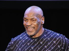 Boxer Mike Tyson is training for a possible comeback that could lead to an exhibition fight. (Image: Getty)