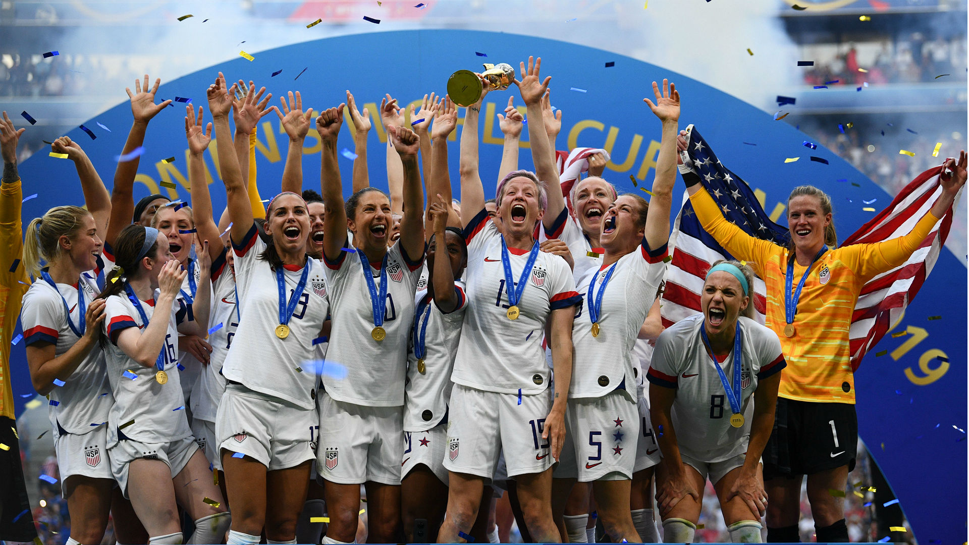 USWNT equal pay lawsuit fails