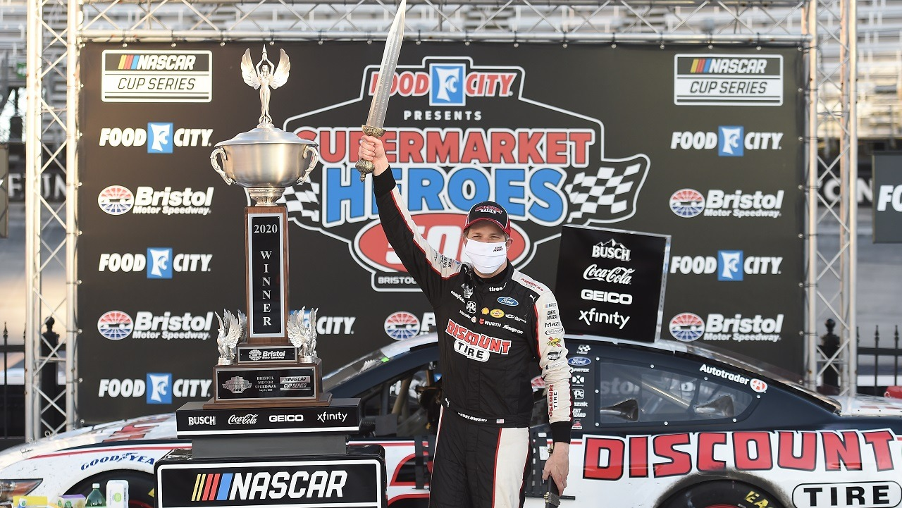 Brad Keselowski Bristol NASCAR
