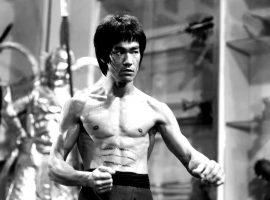 "Bruce Lee during the filming of ""Enter the Dragon"" (1973). (Image: Warner Brothers)"