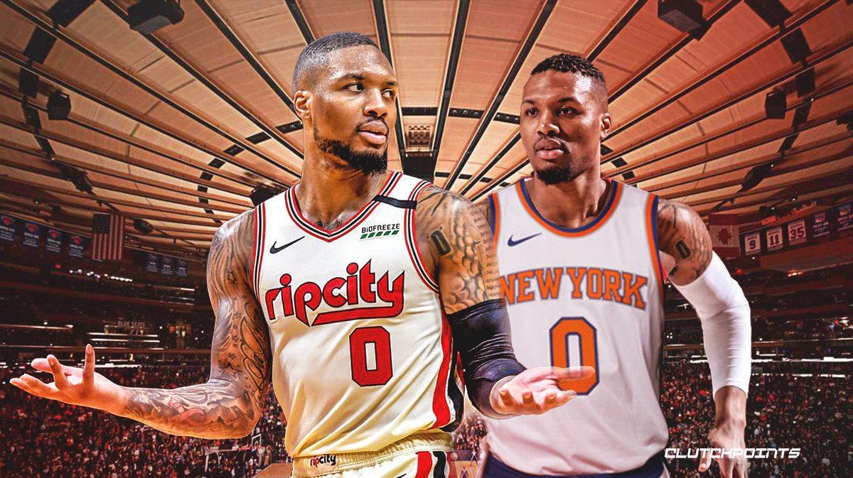 Portland Trail Blazers trade Clyde Drexler Seattle Sonics Damian Lillard NY Knicks