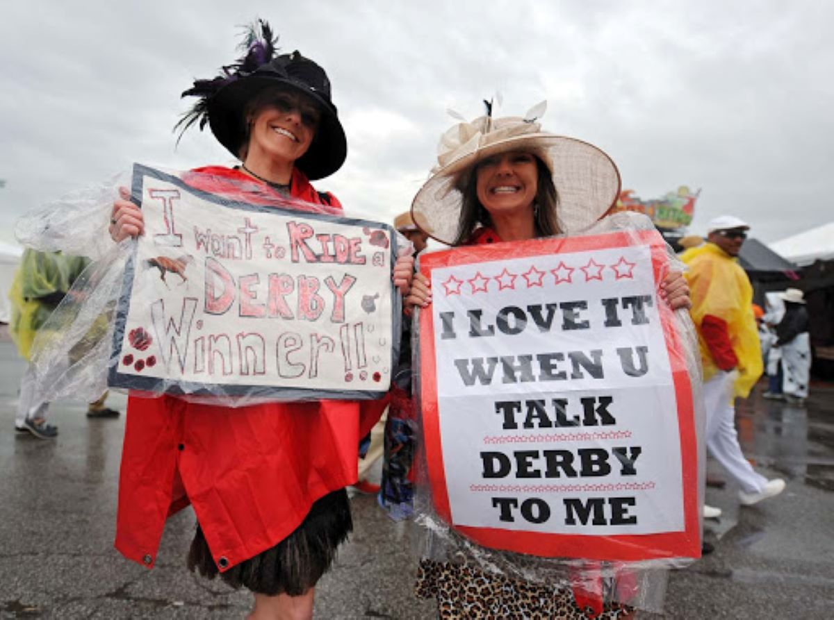 Kentucky Derby With Fans