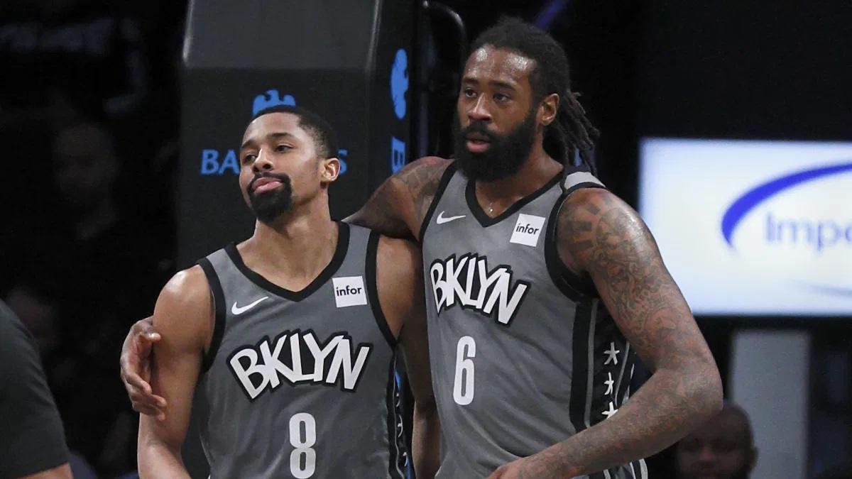 Brooklyn Nets test positive coronavirus DeAndre Jordan Spencer Dinwiddie