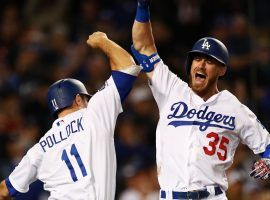 The Los Angeles Dodgers would enter a shortened 2020 MLB season as slight World Series favorites. (Image: Yong Teck Lim/Getty)