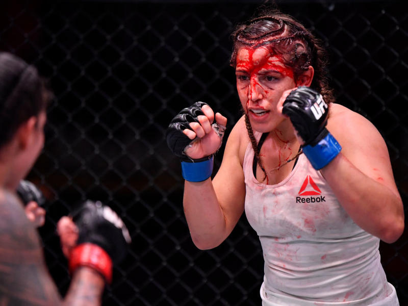 Felicia Spencer hangs tough in UFC 250 bout vs. Nunes