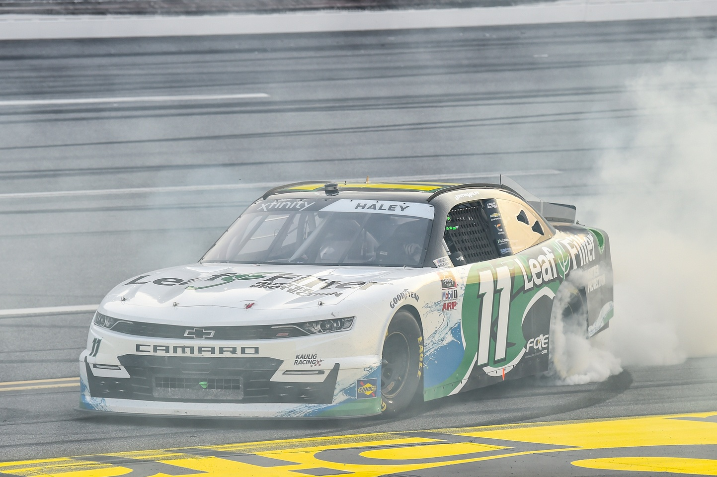 Justin Haley wins first Xfinity with Kaulig Racing