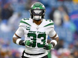 Jamal Adams, safety for the New York Jets, during a game against the Buffalo Bills in Orchard Park, NY. (Image: Porter Lambert/Getty)