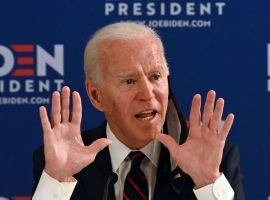 Presumptive Democratic Presidential nominee Joe Biden actually holds an odds edge in more than 10 books. He is favored to unseat President Donald Trump by all 19 overseas books, according to Oddschecker. (Image: Getty)