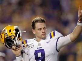 LSU quarterback, Joe Burrow, won the Heisman, National Championship, and went #1 in the NFL Draft to the Cincinnati Bengals. Is Rookie of the Year next? (Image: Gerald Herbet/AP)
