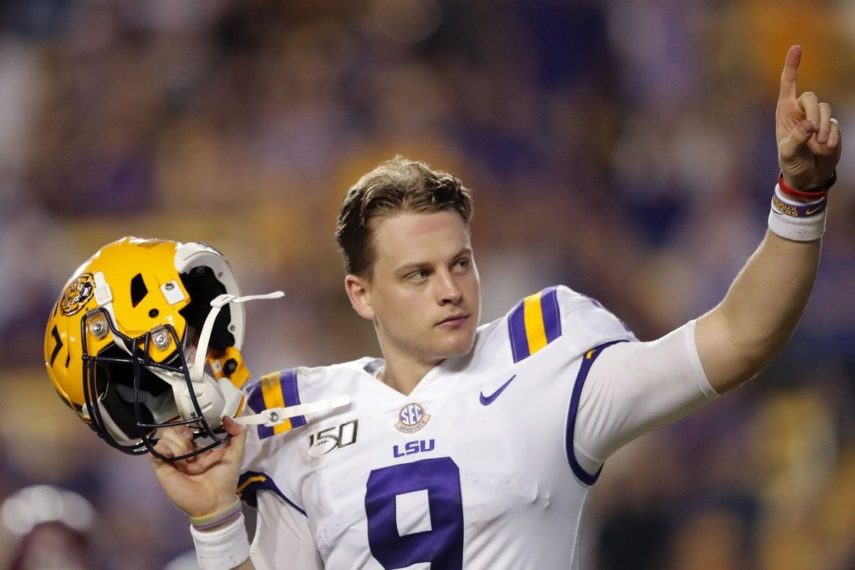 NFL Rookie Year Odds Joe Burrow Chase Young