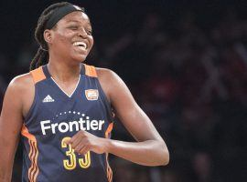 Connecticut Sun star Jonquel Jones became the first WNBA player to opt out of the 2020 season over health concerns earlier this week. (Image: Mary Altaffer/AP)