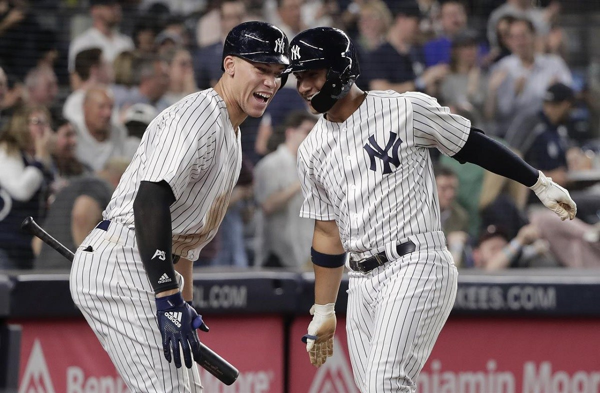 NY Yankees Baby Bombers AL Pennant Odds