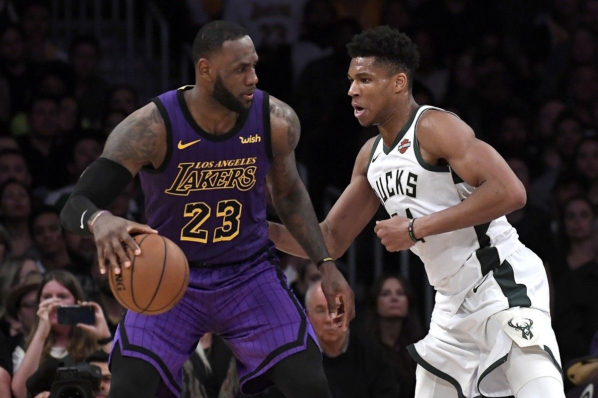 NBA Finals Odds Matchup Lakers Bucks Clippers