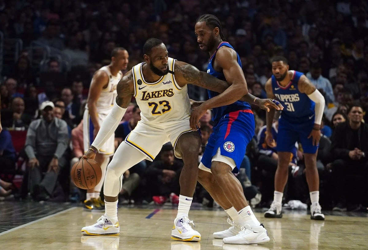 NBA Western West Conference Odds LA Lakers Clippers