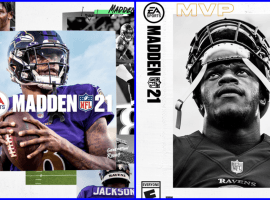 EA Sports revealed the collage cover of Madden 21 featuring 2019 NFL MVP Lamar Jackson. (Image: EA Sports)