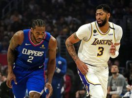 California sports betting is on the shelf until at least 2022, denying locals the change to bet on teams like the Lakers and Clippers. (Image: Kirby Lee/USA Today Sports)